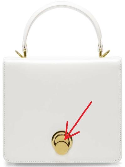Handtasche Umhängetasche oder Geldbörse Turnlock