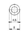 turnlock MTHGIR technical drawing