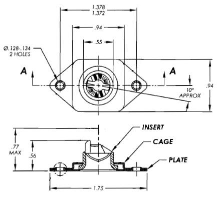 ターンロックHGRRTF33BZY製図
