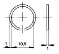 turnlock HGRGRZ technical drawing