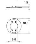 turnlock HHSWPS technical drawing