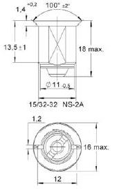 turnlock MTHRTEZZ technical drawing