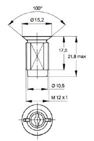 turnlock MPPRZZ technical drawing